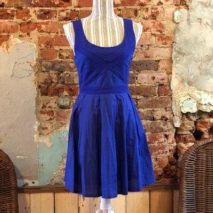 American Eagle royal blue dress